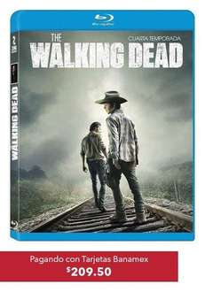 BestBuy CyberMartes con Banamex: The Walking Dead Bluray temporadas 1, 2 y 3 $150.00 c.u.