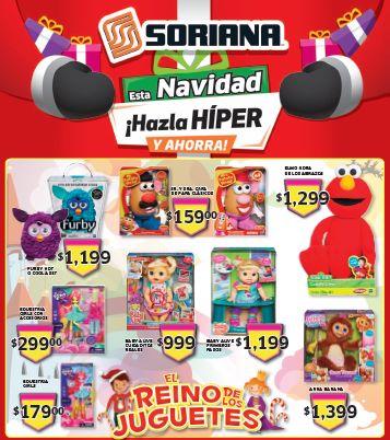 Folleto de ofertas Soriana del 6 al 12 de diciembre
