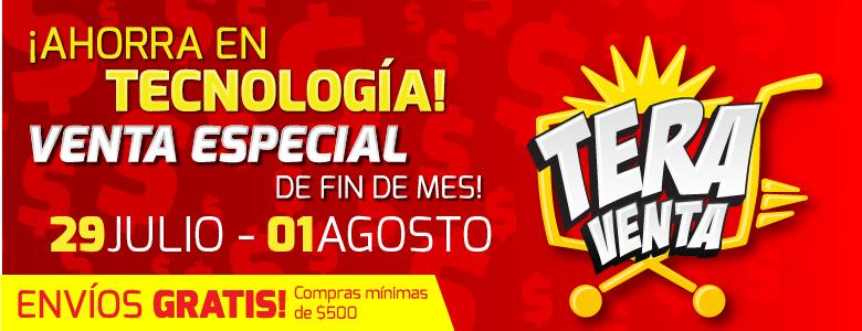 MIPC Teraventa con descuentos de 10% al 30%, Envio gratis a partir de 500