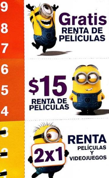 Blockbuster: rentas gratis, 2x1 o a precio especial acumulando rentas