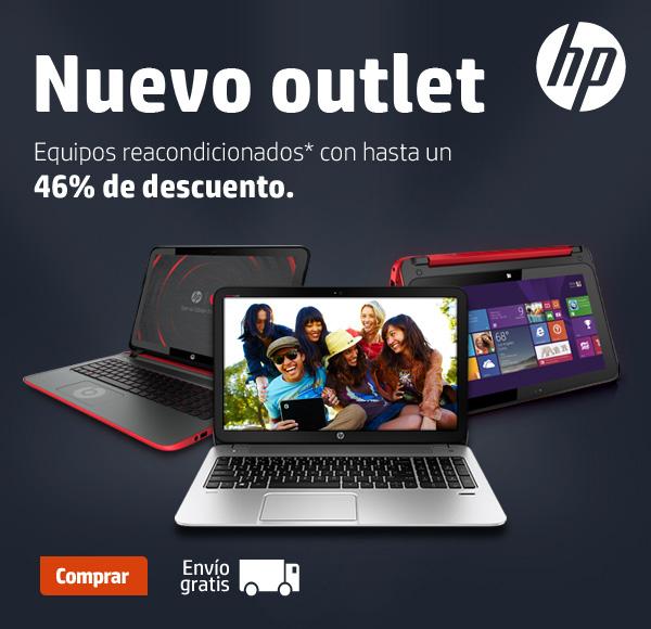 Nuevo outlet HP hasta 46% de descuento