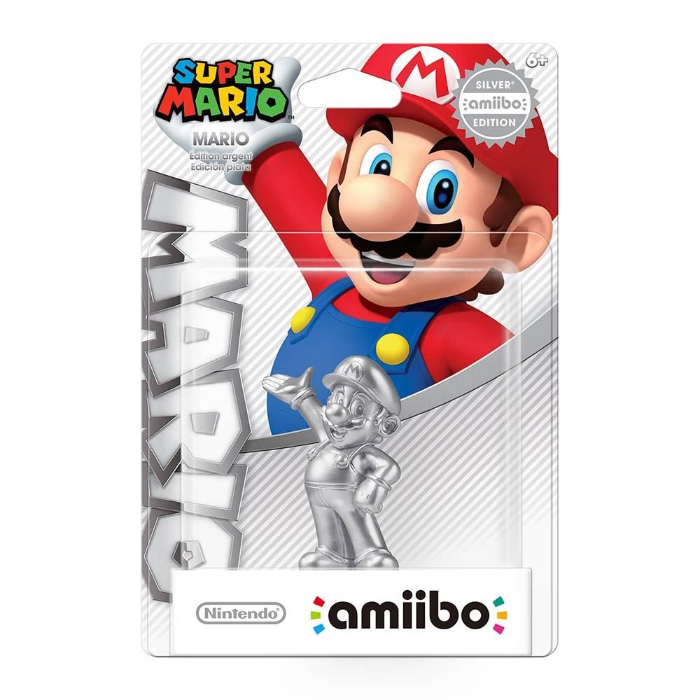 Walmart: Amiibo Mario Plateado