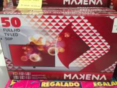 "La Comer: TV 50"" Full HD Makena desde $4,989"