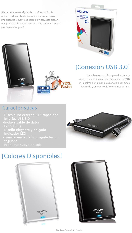 Linio: Disco duro externo 2tb Adata $939