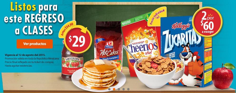 Walmart: Zucaritas o Cheerios 2 por $60