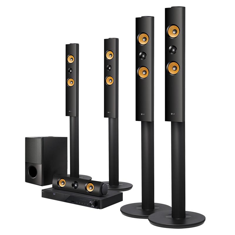 Costco: Teatro en casa 5.1 LG - 1,200W Modelo LHB755 Smart 3D con Bluetooth - Envio GRATIS!