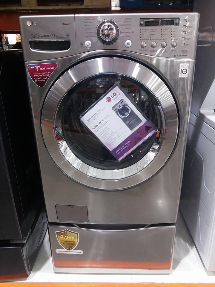 Costco: Lavasecadora LG 18KG WD1873RDS