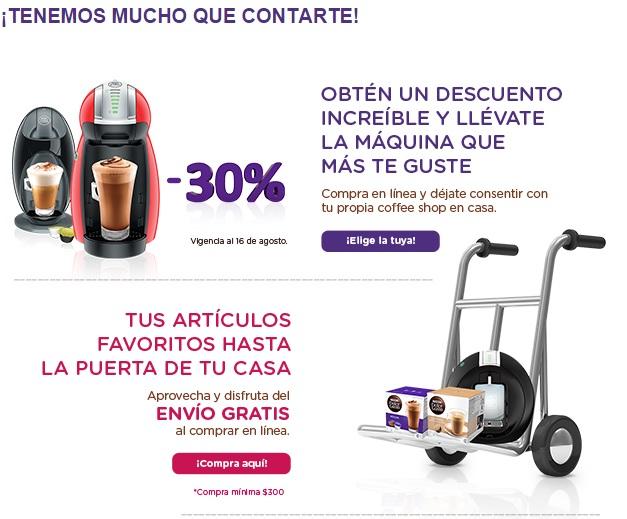 Tienda Dolce Gusto: Cafeteras Dolce Gusto con 30% de descuento