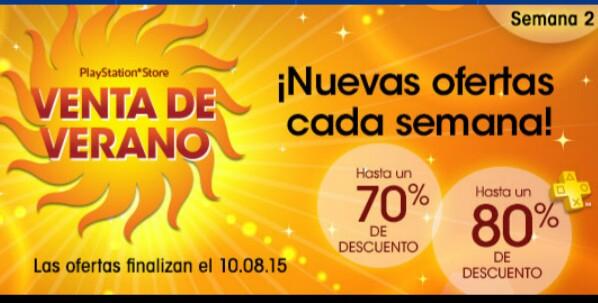 Ofertas de verano semana 2 PSN