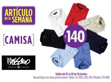 Artículo de la semana Suburbia: camisa $140