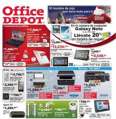 Folleto de ofertas Office Depot diciembre 2013
