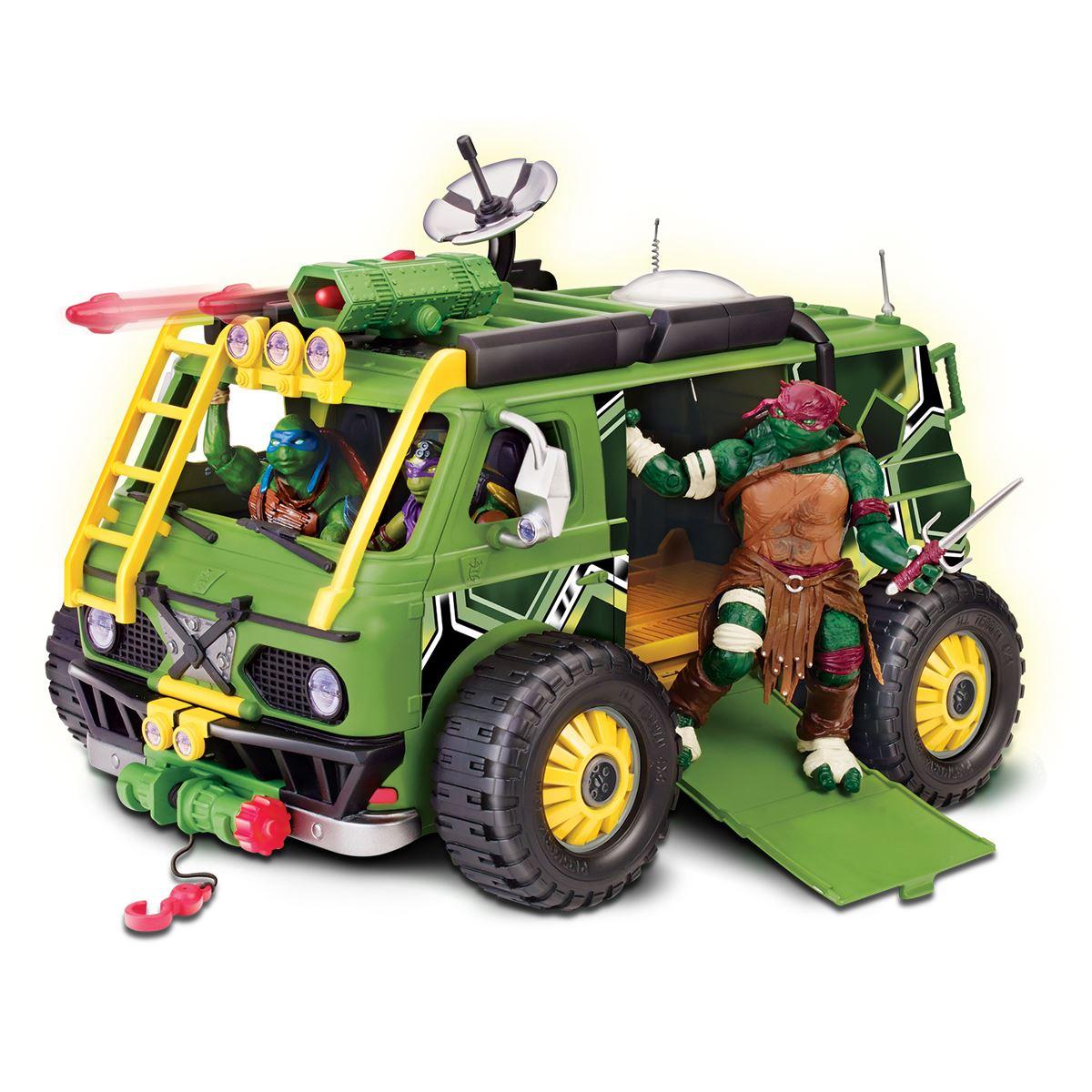 Sanborns: TMNT Camión Acorazado con Figura $383