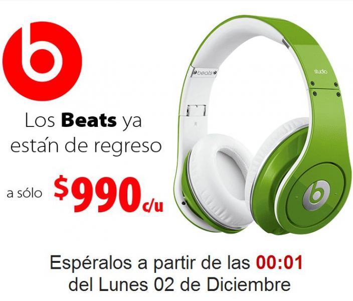Cyber Monday Walmart: audífonos Beats by Dr. Dre $990 y más (actualizado)