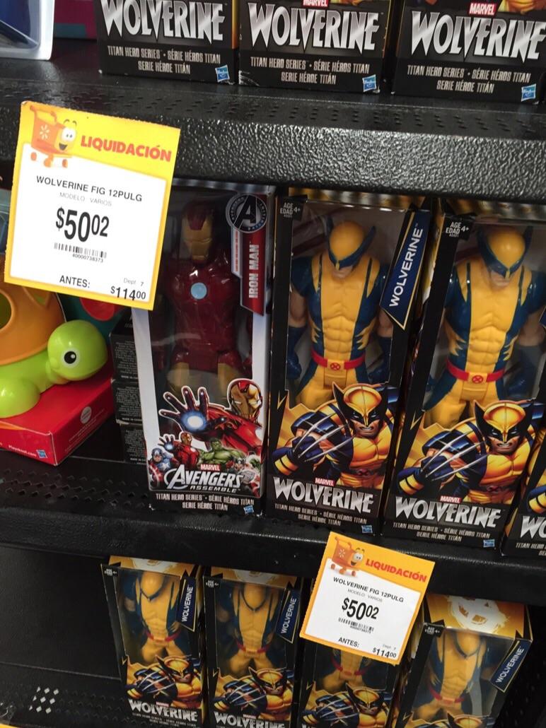 Walmart: figuras de acción desde $50.02