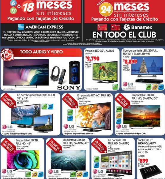 """City Club: todos los DVDs, blu-rays y box sets a $99, pantalla LED 32"""" $2,700 y más"""