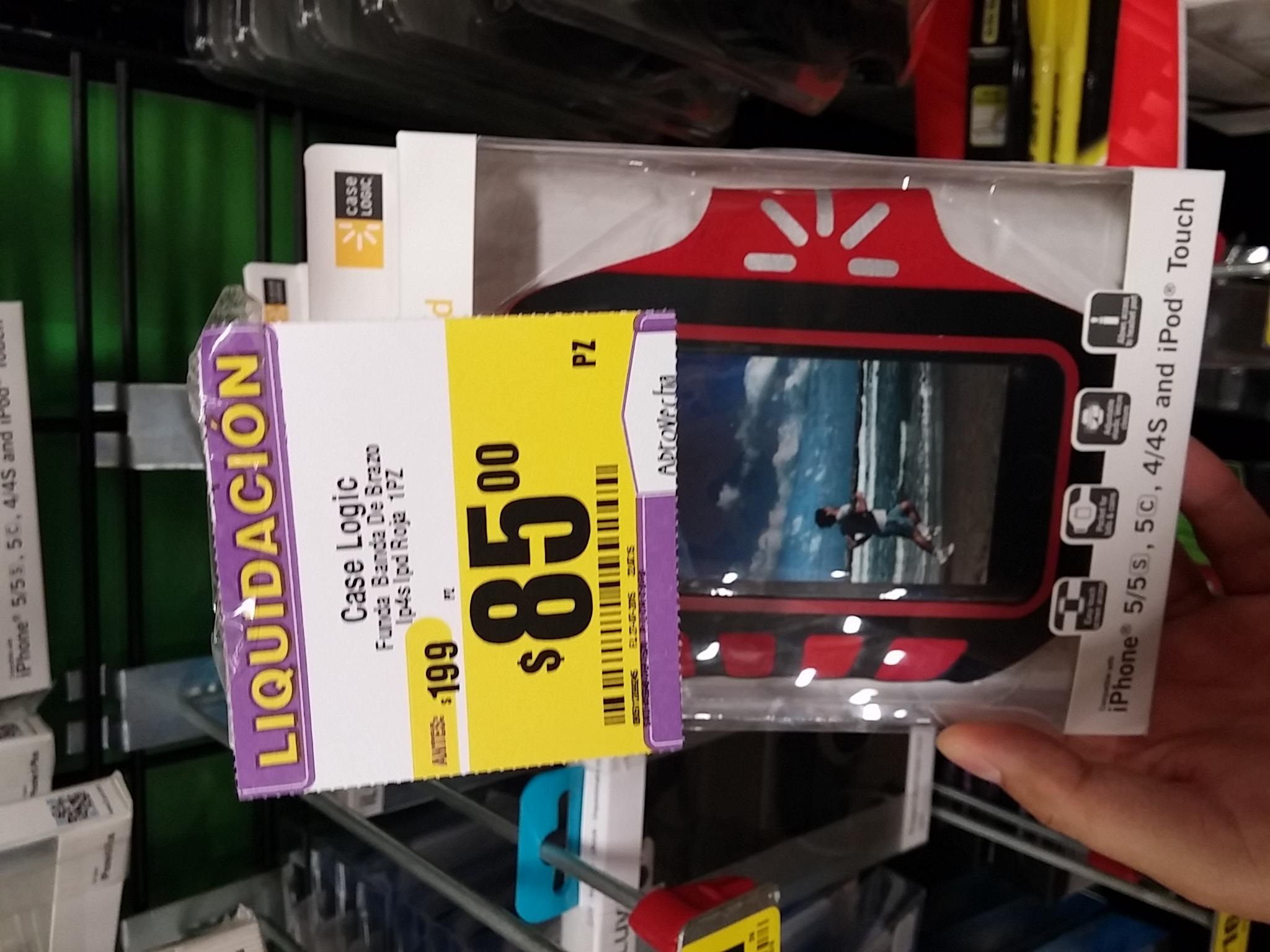 HEB: Banda de brazo para teléfono Case Logic por $49