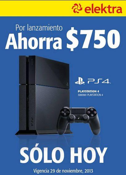 Elektra: $750 de descuento en PS4