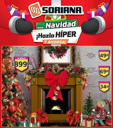 Folleto de ofertas de Soriana del 29 de noviembre al 5 de diciembre