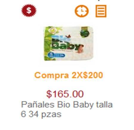 Superama: BIO BABY 2 X $200 CUALQUIER ETAPA