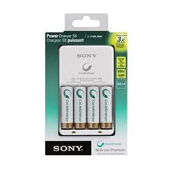 Sony Store: Cargador para baterias Tipo AA y AAA CycleEnergy BCG-34HH4KN a $199 con envío gratis