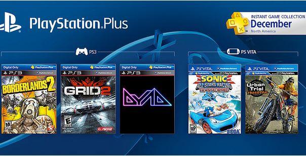 Juegos gratis en diciembre para PlayStation Plus y Xbox Live Gold: incluye Borderlands 2