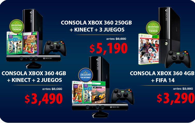 Pre Black Friday Walmart: Xbox 360 con FIFA 14 $3,290 y más