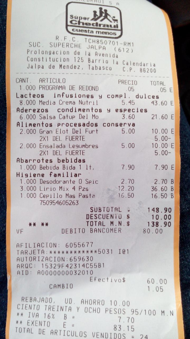 Chedraui: Desodorante old spaice Champions, sport a $2.70