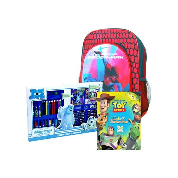 Mequedouno: Mochila+Pack de Libros+Pack de Arte