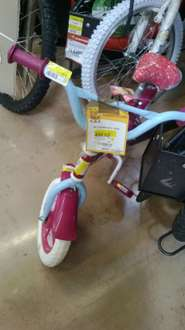 Walmart: Bicicleta R12 Barbie love a $450.02