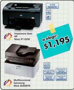 Chedraui: Impresoras laser a $1,195