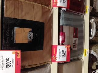 Walmart: Sábanas King de 400 hilos (solo ese color) a $300.02