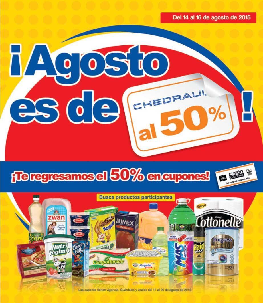 Chedraui: artículos con 50% de bonificación del 14 al 16 de agosto
