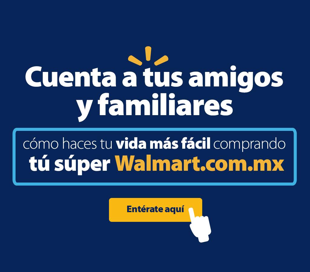 Walmart: envío GRATIS en toda la tienda 15, 16 y 17 de agosto de 2015.