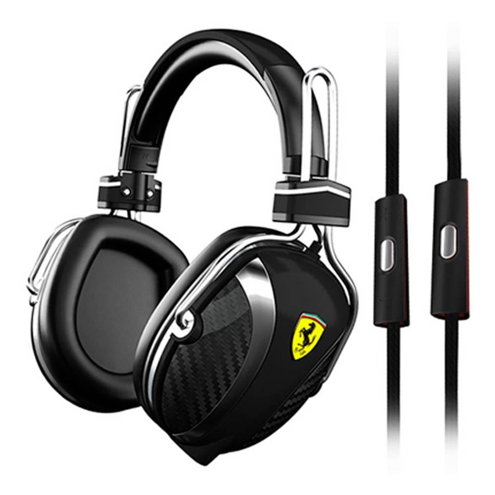 WALMART: Audífonos Escuderia Ferrari Color Negro Modelo P200 $990 o menos