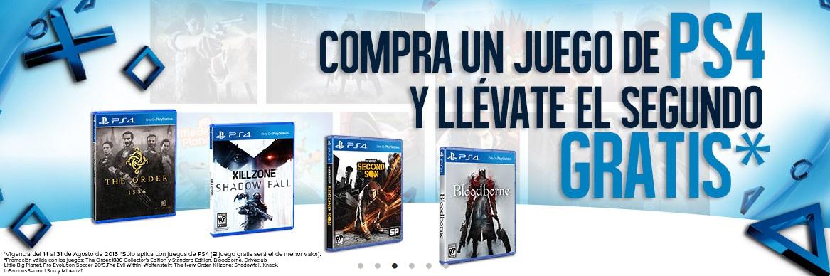 GAMEPLANET: JUEGOS DE PLAYSTATION 4 AL 2x1