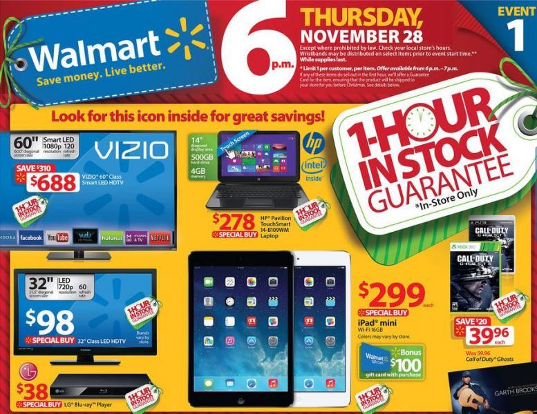 Mejores ofertas de Black Friday 2013 en Estados Unidos