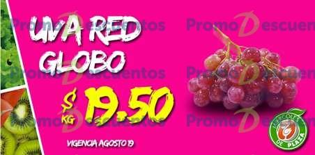Miércoles de Plaza en La Comer agosto 19: uva $19.50 y más