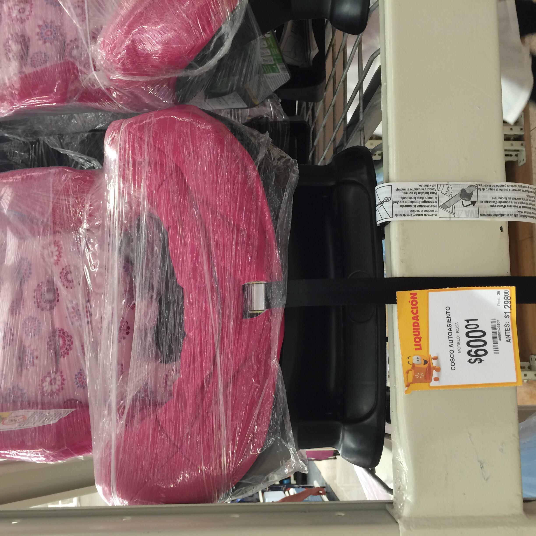 Walmart: auto asiento para bebé a $600.01