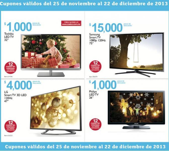 Folleto de ofertas en Costco del 25 de noviembre al 22 de diciembre