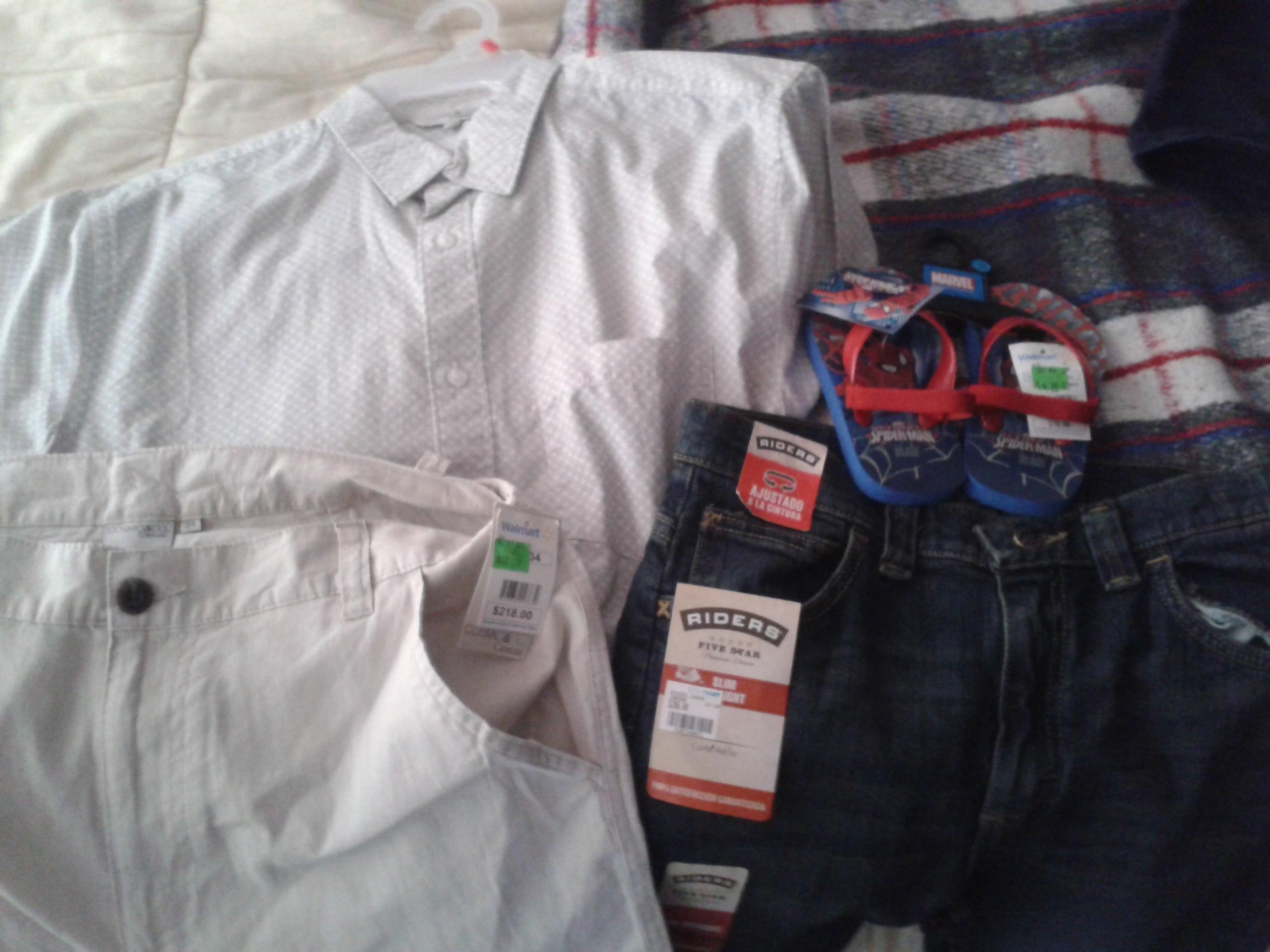 Walmart: ofertas en ropa y sandalias