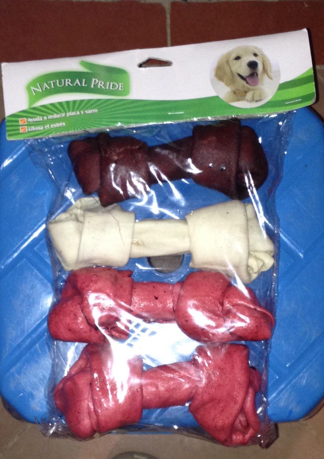 Walmart: 4 pack de huesos de carnaza a $10.01