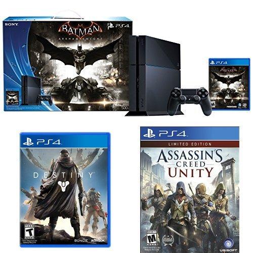 Amazon USA: PS4 +  Batman: Arkham Knight + Destiny + Assasin's Creed Unity por $400USD