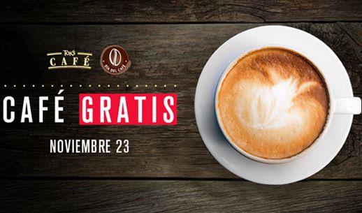 Toks: café gratis mañana (se necesita Facebook)