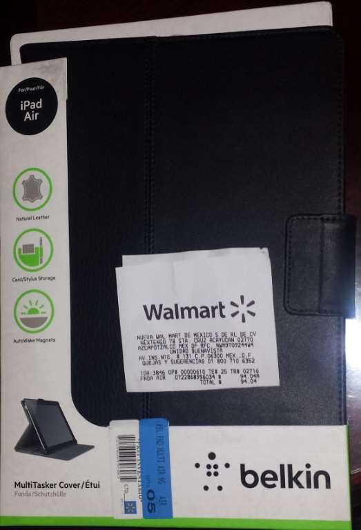 Walmart: Funda Belkin de piel para iPad Air $94.04