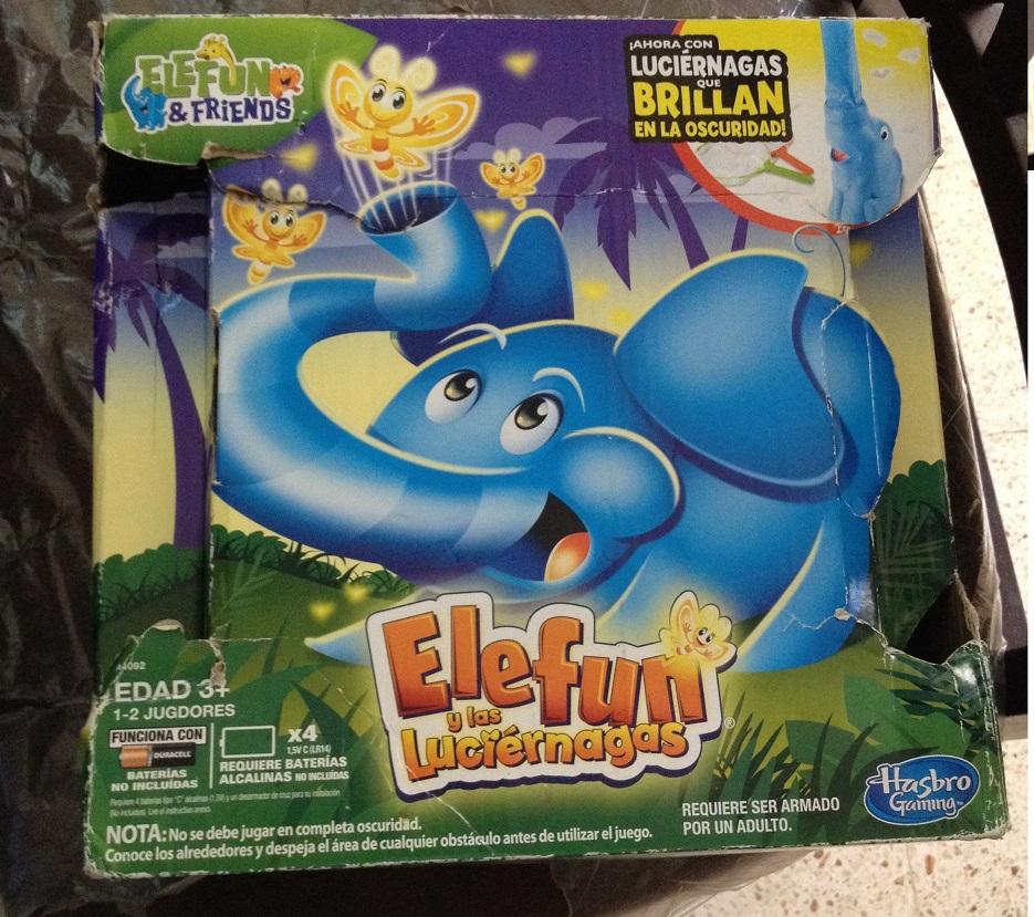 walmart: Elefun y las lucierngas $41.02