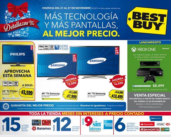 Best Buy: ofertas del 21 al 27 de noviembre