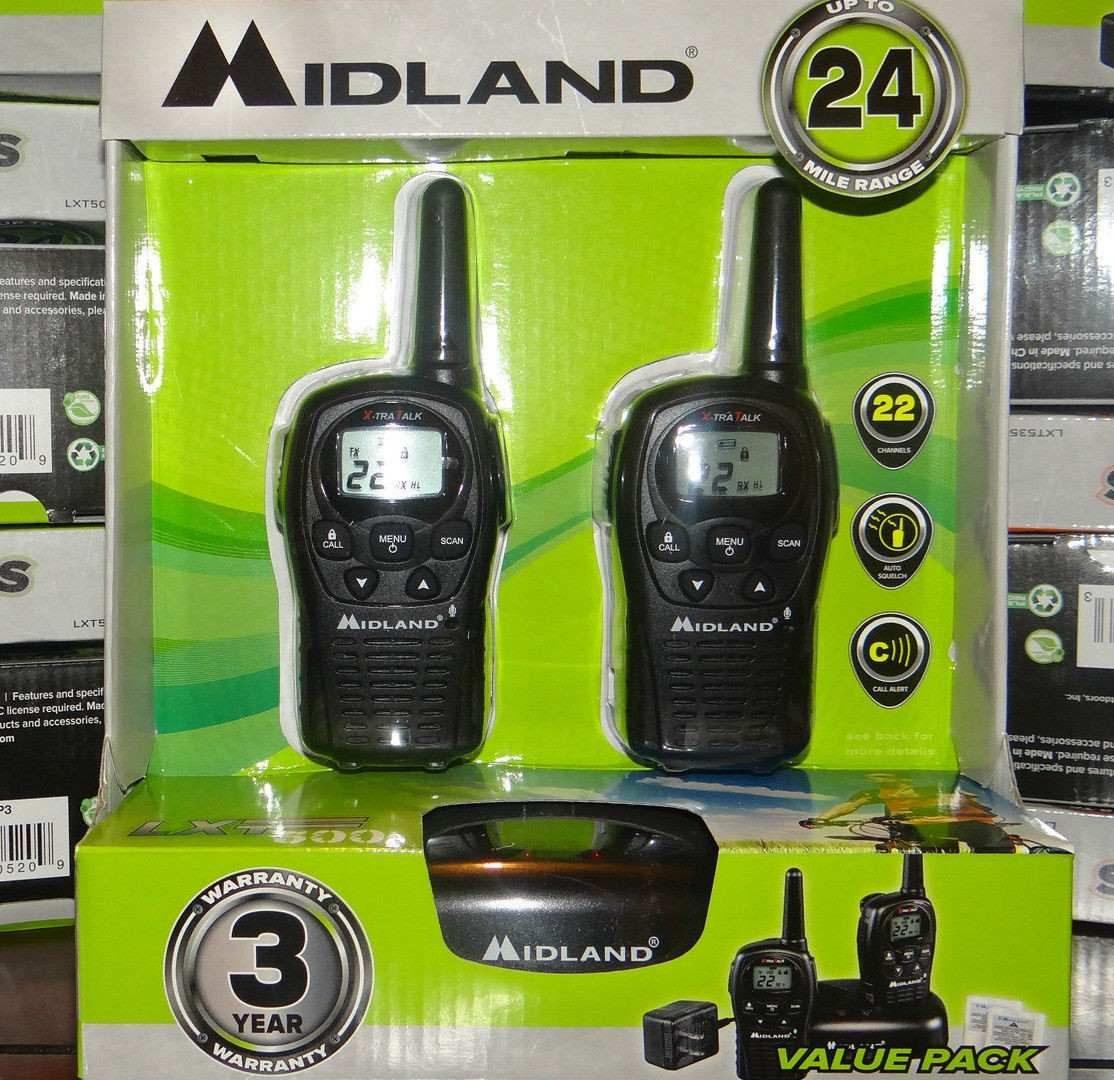 Bodega Aurrerá: Radios 2 vías Midland 50% de descuento