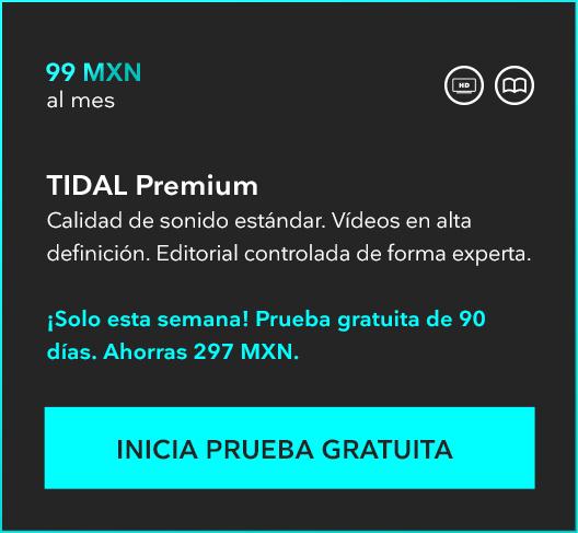 Tidal (streaming de música): 90 días gratis