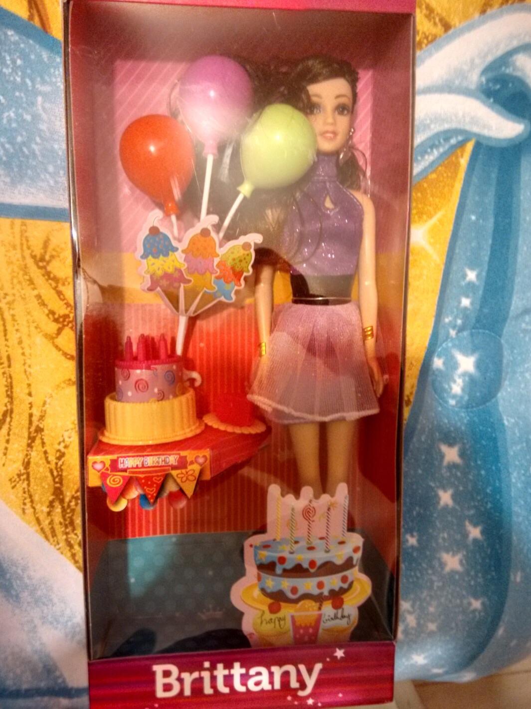 Walmart: Barbie Britany Globo Fiesta a $45.03
