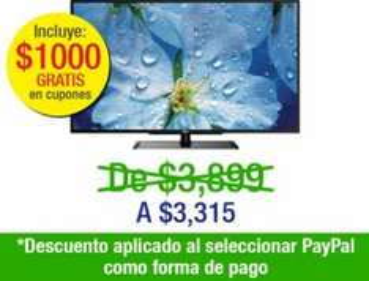 """Decompras: pantalla LED 32"""" RCA $3,315 + $1,000 de bonificación y 3 meses sin intereses"""